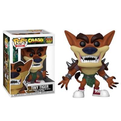 Funko POP! Games Crash Bandicoot Tiny Tiger #533