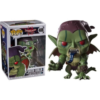 Funko! Pop Spiderman Into the Spider Verse Green Goblin #408