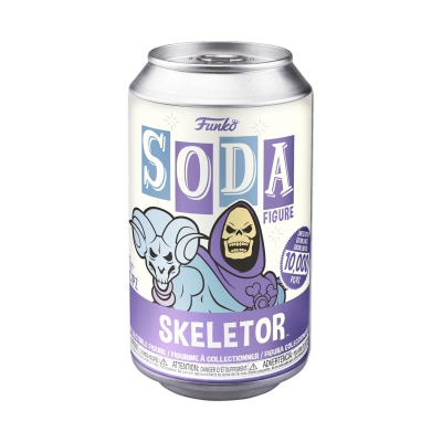 Funko SODA Skeletor c/ Possibilidade de Chase (Edição Limitada a 10000 un)