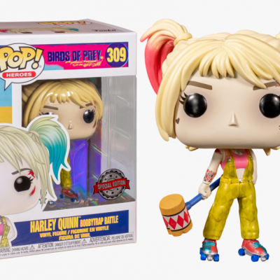 Funko POP! Birds of Prey Harley Quinn Boobytrap Battle #309 Special Edition