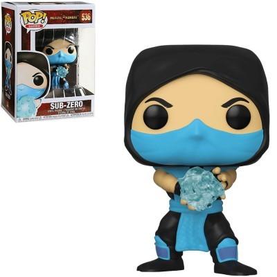 Funko! Pop Mortal Kombat Sub-Zero #536 (Caixa Ligeiramente Danificada)