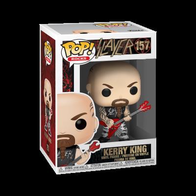 Funko! Pop Rocks Slayer Kerry King #157
