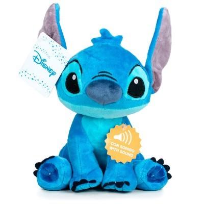 Peluche Disney Stitch c/ Som 30cm Play By Play