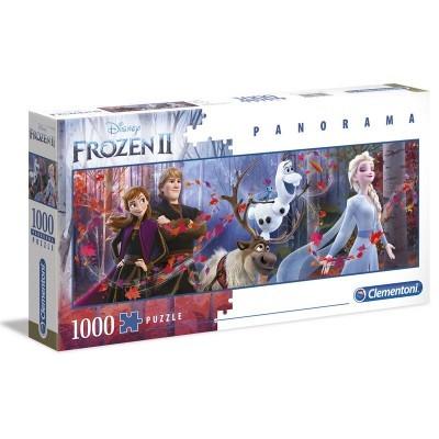 Puzzle Disney Frozen II (Panorama) 1000 Peças Clementoni