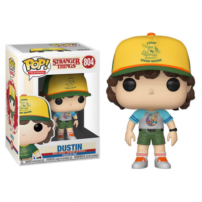 Funko POP! Stranger Things Dustin At Camp #804 Special Edition