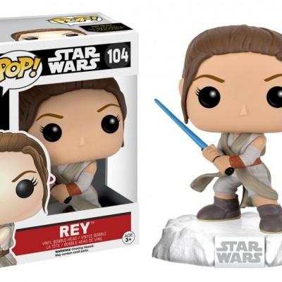 Funko! Pop Star Wars Rey #104