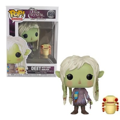 Funko! Pop The Dark Crystal Age of Resistance Deet with Baby Nurlock