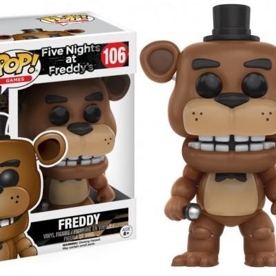 Funko! Pop Games Five Nights At Freddy's Freddy #106