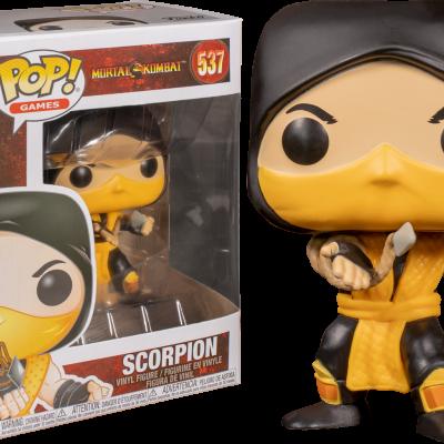 Funko! Pop Mortal Kombat Scorpion #537
