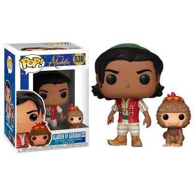 Funko POP! Disney Aladdin Aladdin with Abu #538