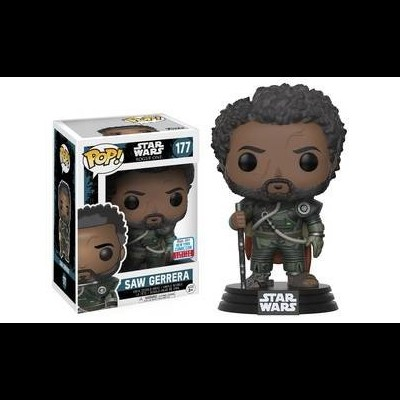 Funko! Pop Star Wars Rogue One Saw Guerrera Fall Convention Exclusive #177