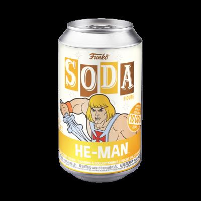 Funko SODA He-Man c/ Possibilidade de Chase (Edição Limitada a 10000 un)