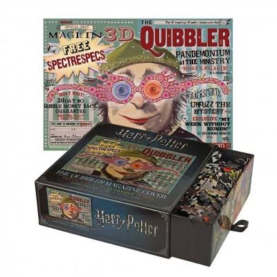 Puzzle Harry Potter The Quibbler Magazine Cover 1000 Peças The Noble Collection