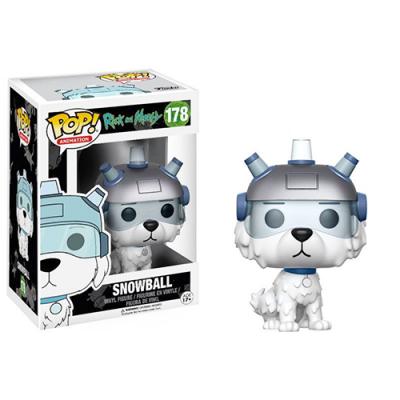 Funko POP! Rick & Morty Snowball #178