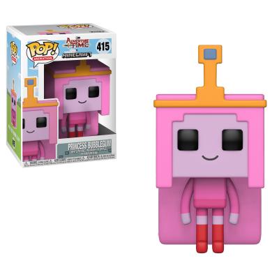 Funko! Pop Adventure Time X Minecraft Princess Bubblegum #415