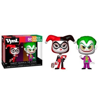 Funko! Vynl DC Super Heroes Harley Quinn + The Joker