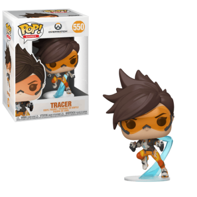 Funko! Pop Games Overwatch Tracer #550