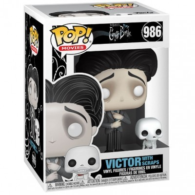 Funko POP! Movies Corpse Bride Victor With Scraps #986