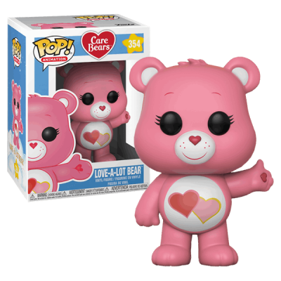 Funko POP! Care Bears Love-a-Lot Bear #354