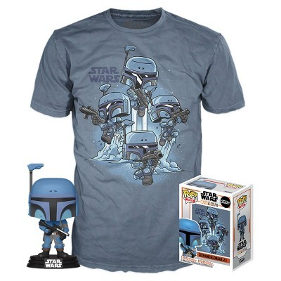 Funko POP! Tees Star Wars The Mandalorian Death Watch Mandalorian No Stripes