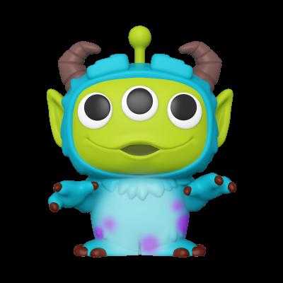 "Funko POP! Disney Pixar Alien Remix Sulley 10"" Super Sized #766"