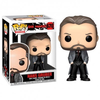 Funko! Pop Die Hard Hans Gruber Exclusive