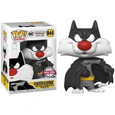 Funko POP! Looney Tunes Sylvester As Batman #844 Special Edition