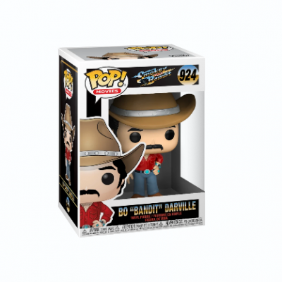 "Funko! Pop Movies Smokey And The Bandit Bo ""Bandit"" Darville #924"