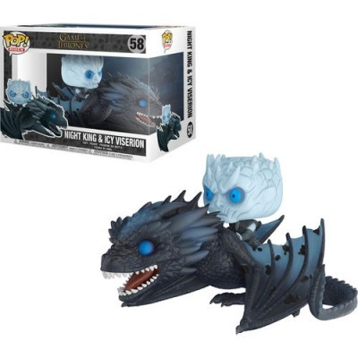 Funko! Pop Game of Thrones Night King e Icy Viserion