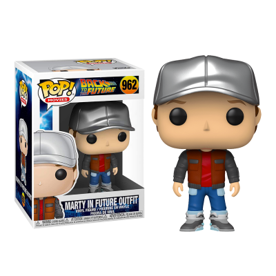 Funko POP! Movies Back To The Future Marty In Future Outfit #962