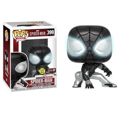 Funko! Pop Marvel Spider Man GamerVerse Mister Negative Glow in the Dark Exclusive