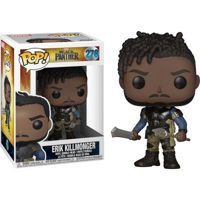 Funko! Pop Marvel Black Panther Killmonger