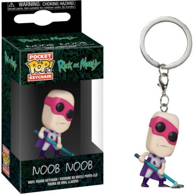 Funko Pocket POP! Keychain Rick And Morty Noob Noob