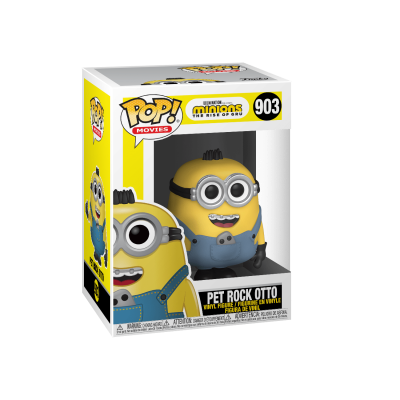 Funko POP! Movies Minions The Rise of Gru Pet Rock Otto #903