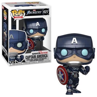 Funko! Pop Games Marvel Avengers GamerVerse Captain America #627