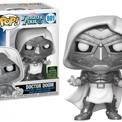 Funko! Pop Marvel Fantastic Four Doctor Doom #591 Exclusive