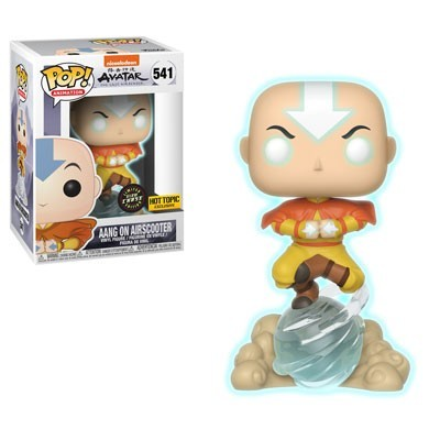 Funko POP! Avatar The Last Airbender Aang On Air Bubble #541 Chase Glow In The Dark Special Edition