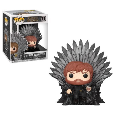 Funko! Pop Game of Thrones Tyrion Sitting on Throne