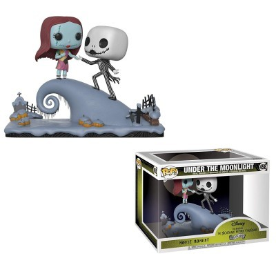 Funko! Pop Nightmare Before Christmas Movie Moment Under the Moonlight Jack & Sally