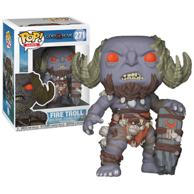 Funko! Pop Games God Of War Fire Troll #271