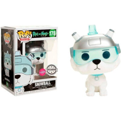Funko POP! Rick & Morty Snowball Flocked #178 Exclusive