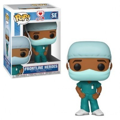 Funko POP! Frontline Heroes Male 2