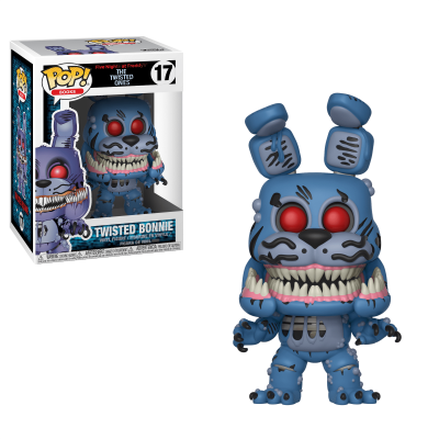 Funko! Pop Books Five Nights at Freddy's The Twested Ones Twisted Bonnie #17