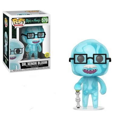 Funko POP! Rick & Morty Dr. Xenon Bloom Glow In The Dark #570