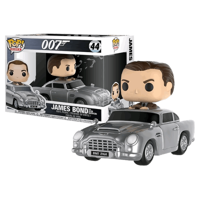 Funko! Pop 007 James Bond with Aston Martin DB5