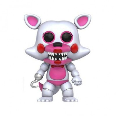 Funko! Pop Games Five Nights At Freddy's Funtime Foxy Flocked & Special Edition #129