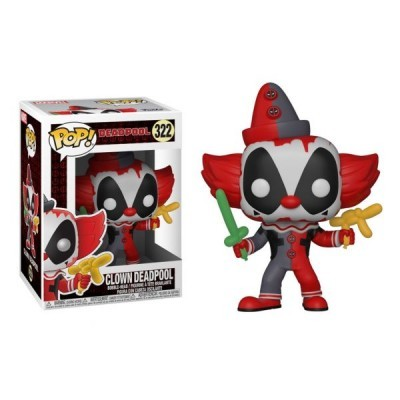 Funko! Pop Deadpool Clown Deadpool