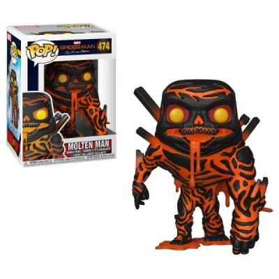 Funko! Pop Spiderman Far From Home Molten Man #474