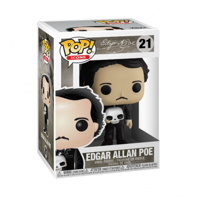 Funko! Pop Icons Edgar Allan Poe #21