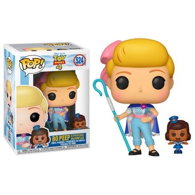 Funko! Pop Toy Story 4 Bo Peep with Officer McDimples